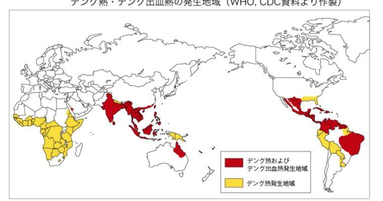 【番外編】バングラだけじゃなく、デング熱は世界中で大流行していた