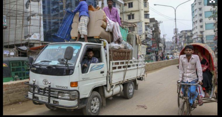 バングラデシュの引越し−ワイルドすぎるだろ−