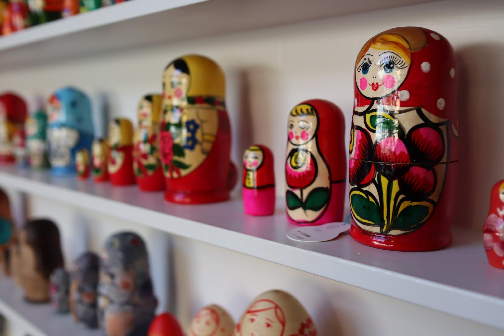 日本の伝統こけしとマトリョーシカの専門店「コケーシカ」@神奈川県鎌倉市