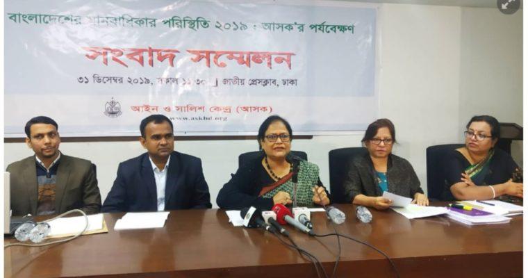 2019年のバングラデシュでのレイプ被害者数は1413人-前年から被害者数が倍増-