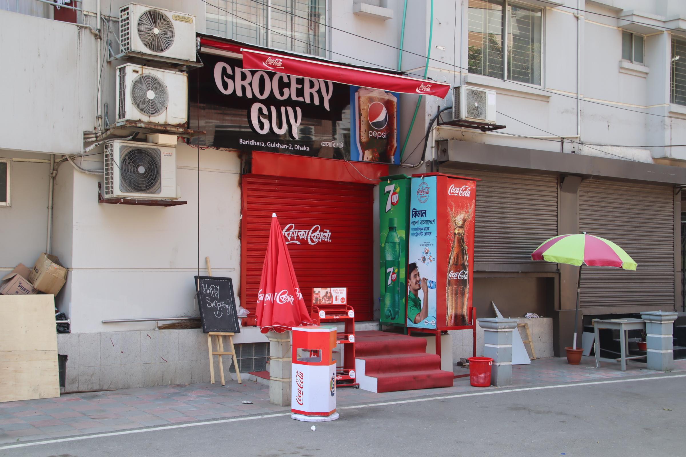 「バリダラに新店!!」GROCERY GUY@ダッカ・バリダラ
