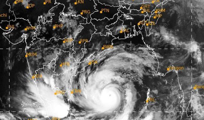 ベンガル湾沖でサイクロンが発生!20日午後にバングラ上陸か