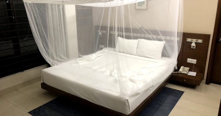 バングラデシュ生活で必要不可欠な物といえば蚊帳でしゅ