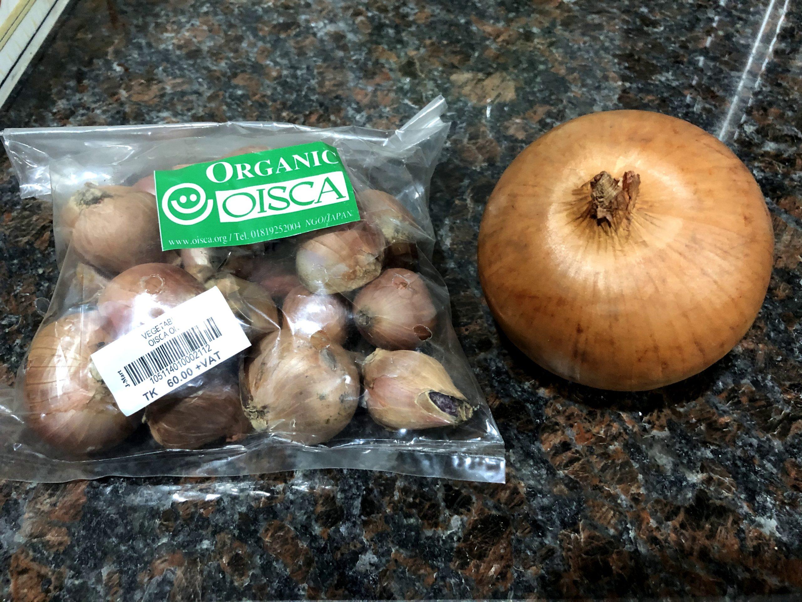 バングラの野菜は全体的に小さめ!!