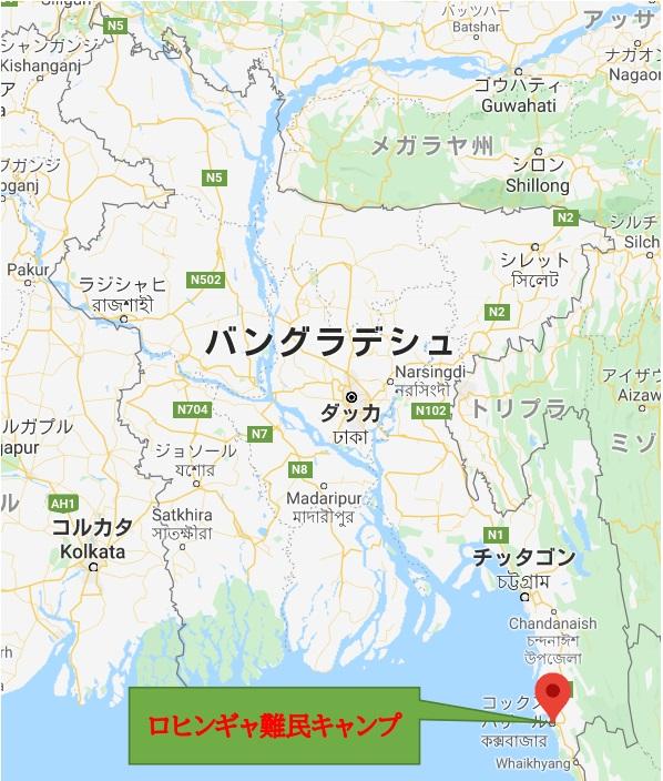 ロヒンギャ難民キャンプ、バングラ政府は「コロナ封じ込めに成功」と発表