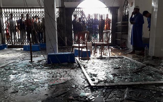 バングラデシュのモスクで爆発、25人死亡、約40人が負傷