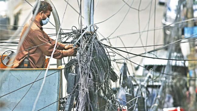 バングラデシュでのインターネットケーブル撤去問題、ネットサービス切断を撤回