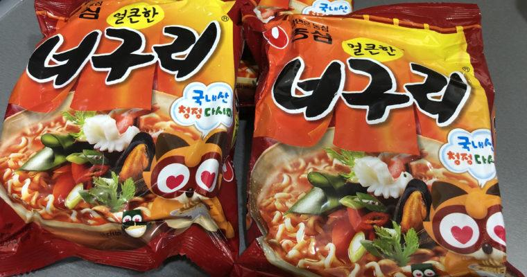 「モチモチの太麺が特徴の韓国インスタント麺」NONGSHIMのノグリ