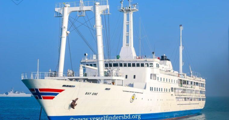 日本で引退した大型客船が、バングラデシュ・ベンガル湾のリゾート航路で復活!!