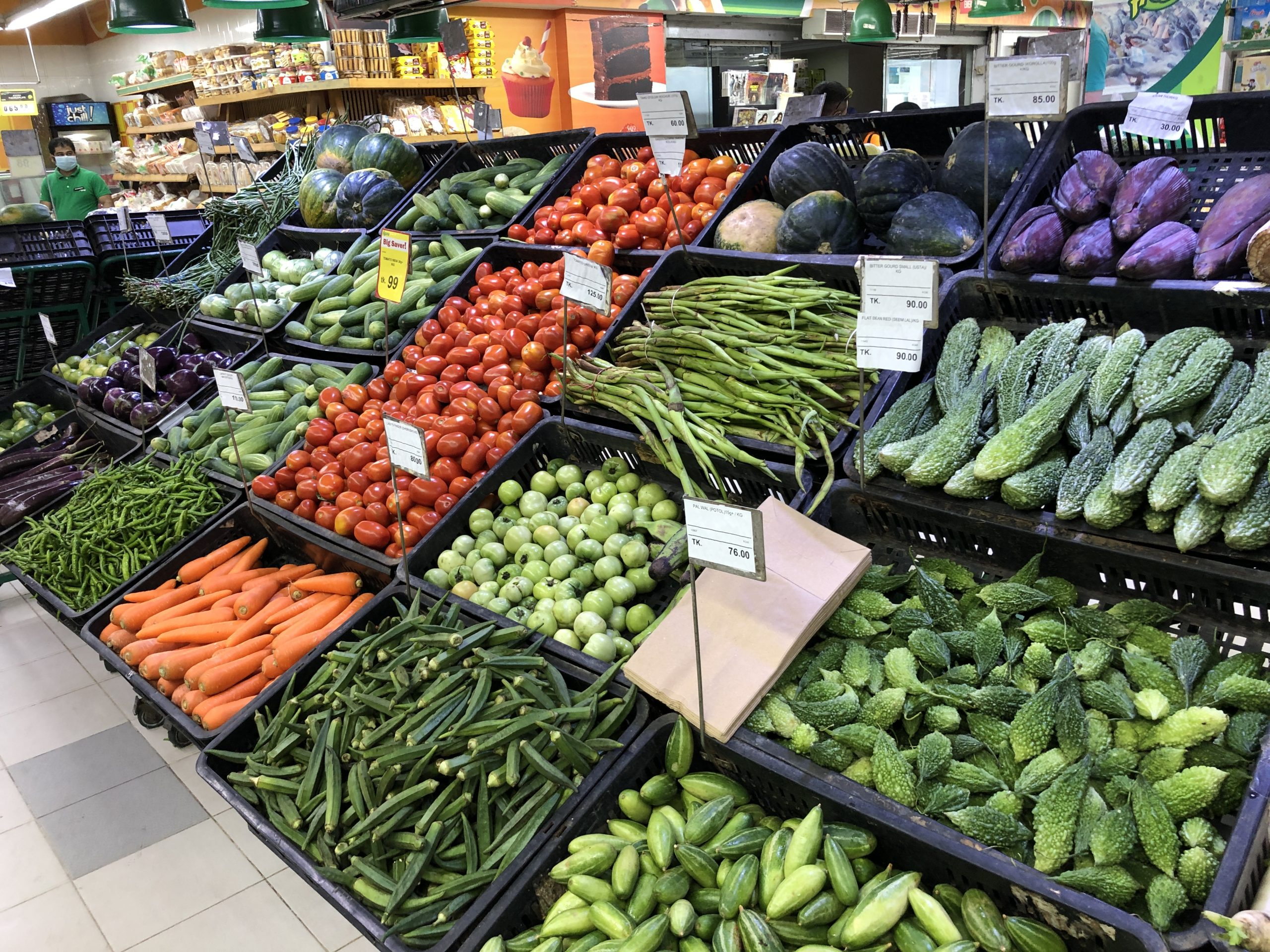 バングラデシュ、冬野菜の価格が下落