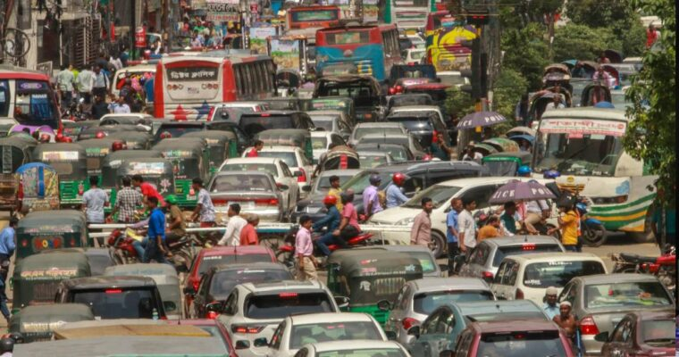バングラデシュの渋滞、2021年調査で世界ワースト5位