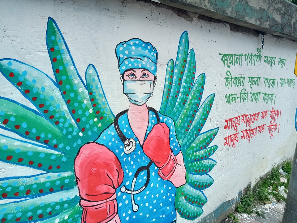 バングラデシュの21日新規感染者、4636人を確認!陽性率は約20%