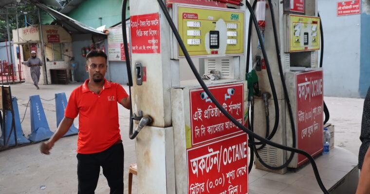 バングラデシュのガソリンスタンド事情
