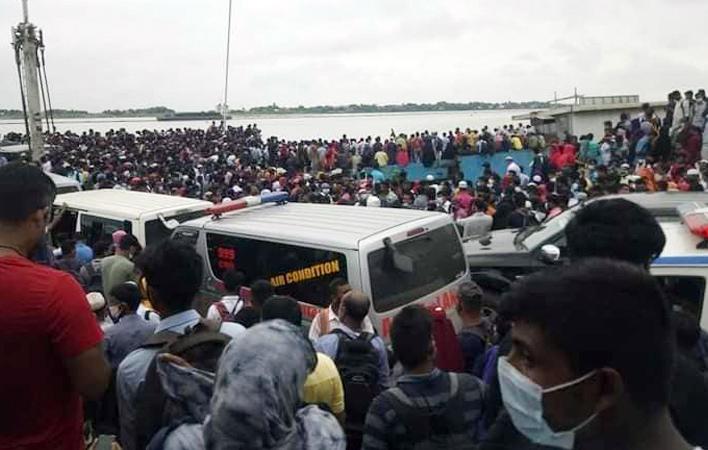 バングラデシュでは8月1日からの一部工場再開に伴い、1日のみ公共交通機関の規制を緩和へ