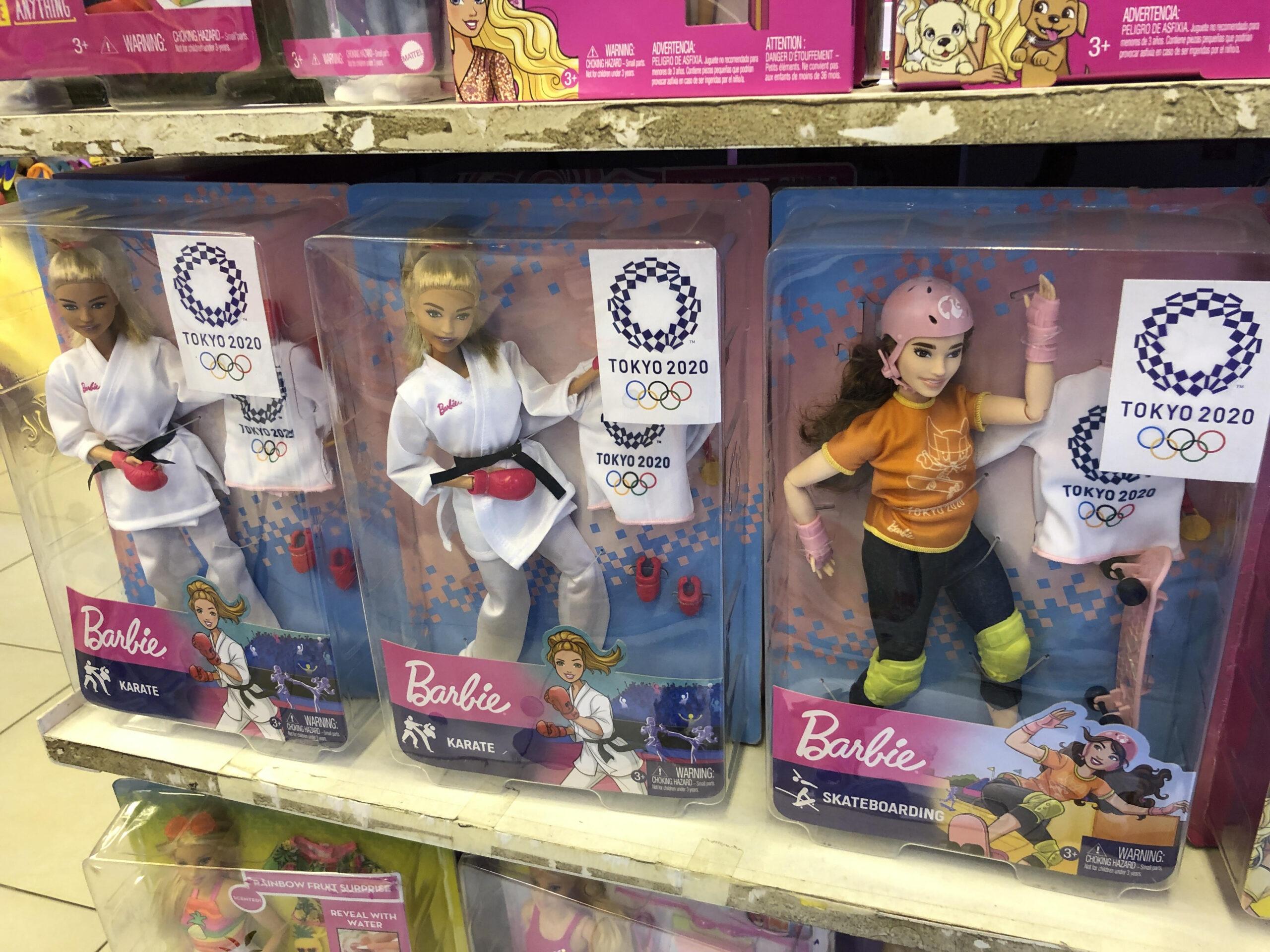 バングラデシュで東京五輪バージョンのバービー人形を発見!!